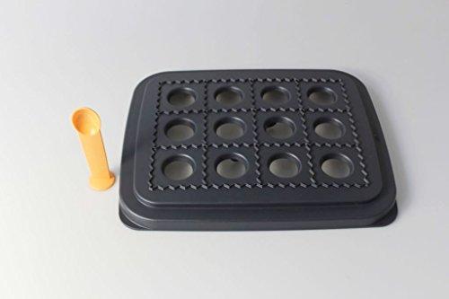 TUPPERWARE Snack Big-Snack schwarz D152 Teigtaschen Vielfalt Maultaschen Ravioli