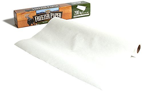 Eastman Outdoors 38246 Freezer Paper, 200 Square Feet, Plastic-Coated White by Eastman Outdoors