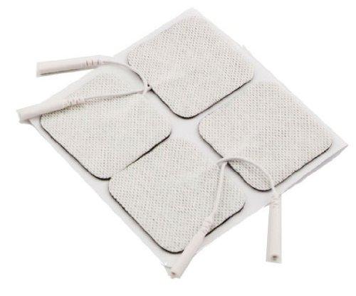 Elektroden-Pads Tens Superior, langlebig, selbstklebend 4Stück 5x 5cm (5,1x 5,1cm) Universal passend für Med Fit | TENS Care | Bodyclock | TPN200Maschinen