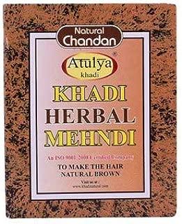 Khadi Natural Herbal Brown Mehndi, 100 Gm (Set of 2)
