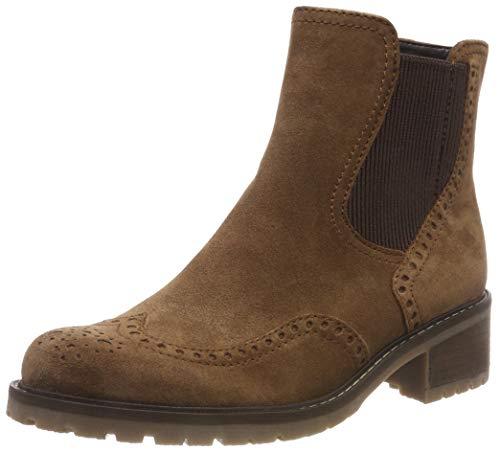 Gabor Shoes Damen Comfort Basic Chelsea Boots, Braun (Nut (Mel.) 34), 39 EU