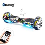 Windgoo Hoverboard 6.5' Bluetooth Balance Board Patinete Eléctrico Scooter Talla LED 350W*2