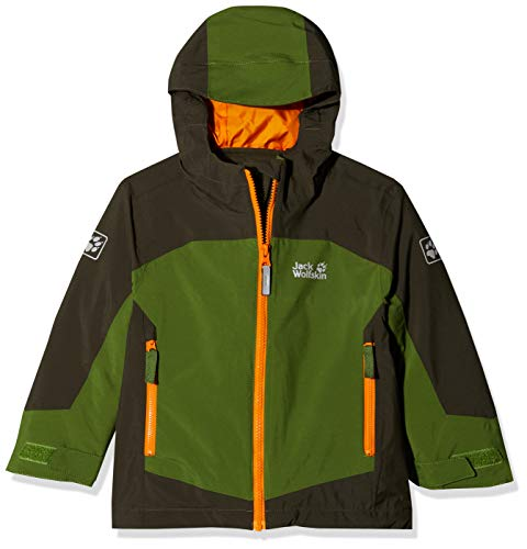 Jack Wolfskin Jungen ROPI 3IN1 Jacket Boys 3in1-jacke, deep Forest, 176