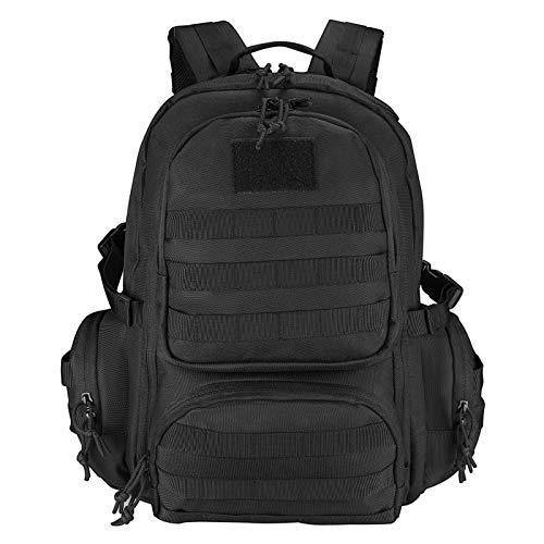 ProCase 3 Day Military Assault Pack Tactical Backpack, 42L Molle Go Bag-Black