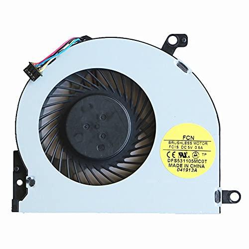 Ellenbogenorthese-LQ Ventilador de CPU nuevo ventilador de refrigeración de CPU para HP Envy m4-1000 m4-1100 m4-1002xx m4-1015dx m4-1115dx accesorios.