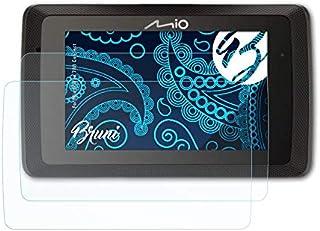 Bruni Schutzfolie kompatibel mit Mio MiVue 788 Connect Folie, glasklare Displayschutzfolie (2X)