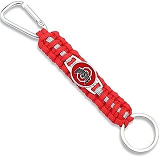 Ohio State Buckeyes Paracord Keychain