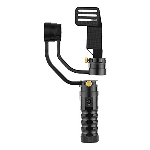 Andoer AFI VS-3SD Handheld 3-Axis Brushless Remote Control Handheld Steady Gimbal Stabilizer for Canon 5D 6D 7D for Sony A7 A7II A7R A7R2 A7S A7SII GH4 DSLR and Mirrorless Cam Support Weight 1.7kg