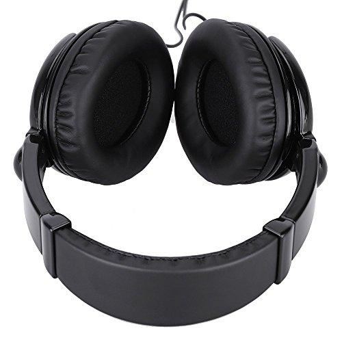 Kopfhörer, Andoer HD 2000, dynamischer, kabelgebundener Stereo-Kopfhörer, Headset für Gitarre, PC, Computer, CD-Player, Walkman, MP3,MP4