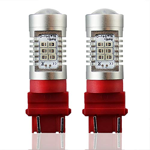 JDM ASTAR Extremely Bright PX Chipsets 3056 3156 3057 3157 LED Bulbs For Brake Light Tail lights, Brilliant Red 1995 95 Ford Explorer Tail