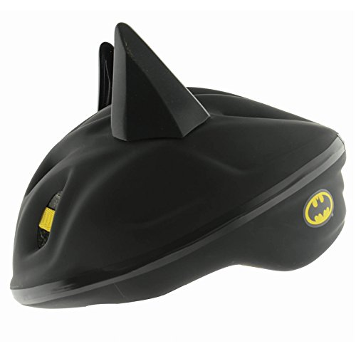 DC Comics 3D Batman Bat Ears Safety Helmet Kids Quick Release Head Size 53-56cm