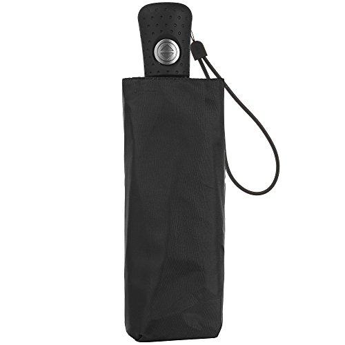 totes Automatic Open Close Compact Foldable Travel Umbrella
