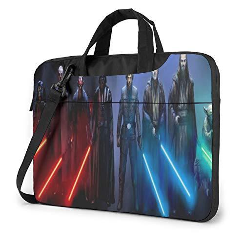 Star Wars Laptop Sleeve Case Laptop Bags Handheld One Shoulder Shockproof Oxford Protective Case/Notebook Computer Pocket Case/Tablet Briefcase Carrying Bag Compatible-15.6 Inch