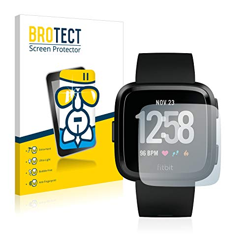 BROTECT Protector Pantalla Cristal Compatible Fitbit