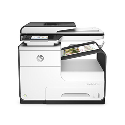 HP PageWide Pro 477dn Color All-in-One Duplex Business Printer With Print Security