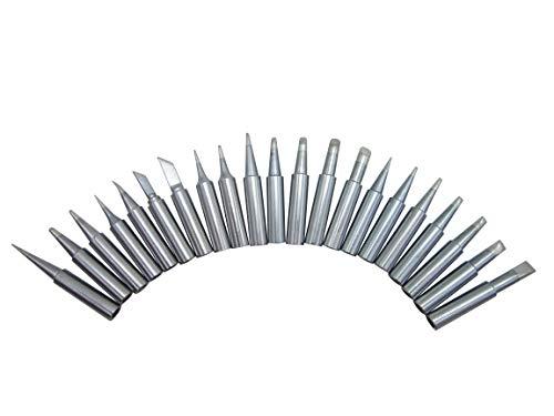"21 PCS Soldering Tips T18 Series Fit HAKKO FX-888 FX-888 FX-8801 FX-600 (FX888/FX888D FX8801 FX600) Lead Free Solder Iron Tip Bit (Brand""AiCE Tls"")"