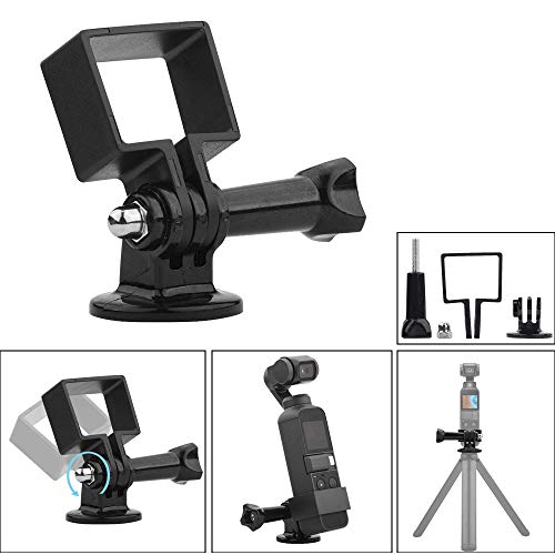 Miglior regalo !!! Staffa adattatore espansione Beisoug Per fotocamera Gimbal palmare DJI Osmo Pocket, supporto fisso per espansione con adattatore GoPro per DJI Osmo Pocket Gimbal Accessori