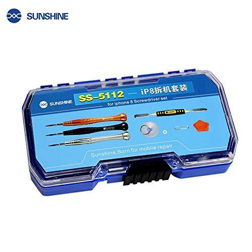 SS-5112 Mobiele telefoon Reparatie Gereedschap Kit Spudger Pry Opening Schroevendraaier Set voor iPhone 7 iPhone 8 en voor Apple