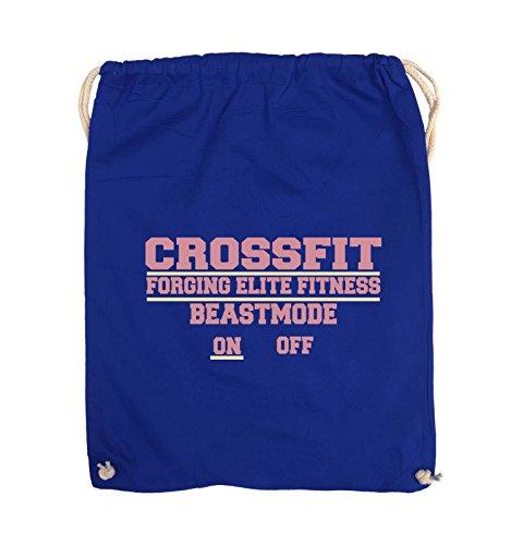 Comedy Bags Crossfit Forging Elite Fitness Beastmode on Off – Sac de gymbag imprimé 100% Coton Pratique avec Style