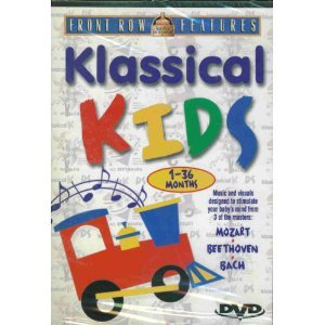 Klassical Kids, 1 - 36 Months : Music and Visuals Designed To Stimulate Your Baby's Mind From 3 Of The Masters