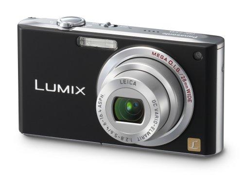 Panasonic DMC-FX33 EG K Digitalkamera (8 Megapixel, 3,6-fach opt. Zoom, 6,4 cm (2,5 Zoll) Display, Bildstabilisator, 28mm Weitwinkel) schwarz