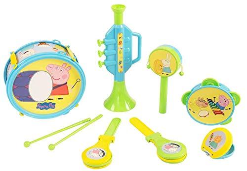 Peppa Pig 1383757 1383757-Peppa Musical Band Peppa Wutz Musik Instrumente Set