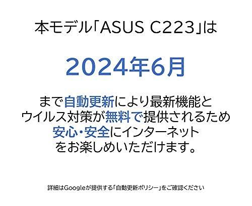 ASUS「ASUSChromebookC223NA(C223NA-GJ0018)」