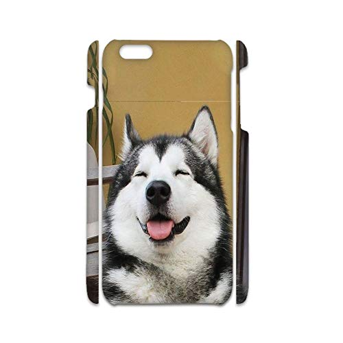 Print with Siberian Husky 4 Timeproof Abs Cases Compatible On Apple iPhone 7 8 Men Choose Design 133-2