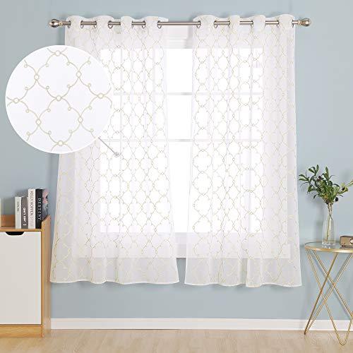 cortinas salon traslucidas