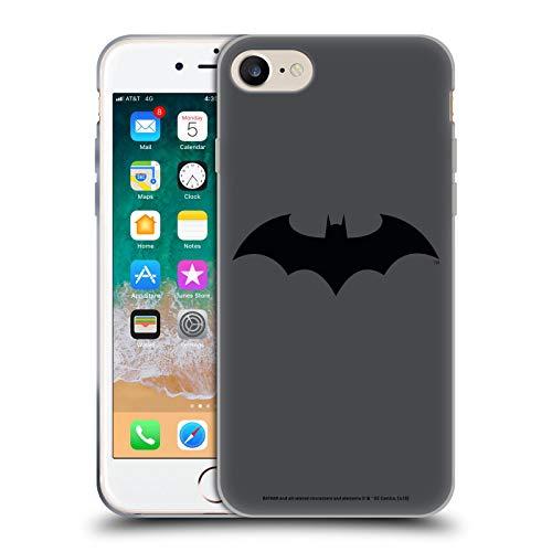 Head Case Designs sous Licence Officielle Batman DC Comics Hush Logos Coque en Gel Doux Compatible avec Apple iPhone 7 / iPhone 8 / iPhone SE 2020