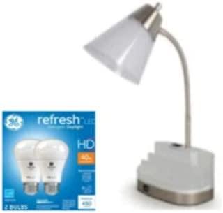 Desk Lamp Organizer and Light Bulbs