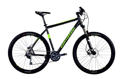 Corratec MT Cross Base Gent dark grey matt/lime green/white Rahmengröße 57 cm 2016 MTB Hardtail