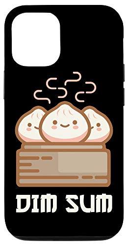 iPhone 12/12 Pro DIM SUM Funny Dumplings Asian Food Fan Gift Case