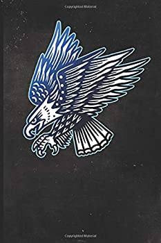 Journal  Patriotic Bald Eagle Tattoo Design Dot Grid Tattoo Flash Sketching Journal