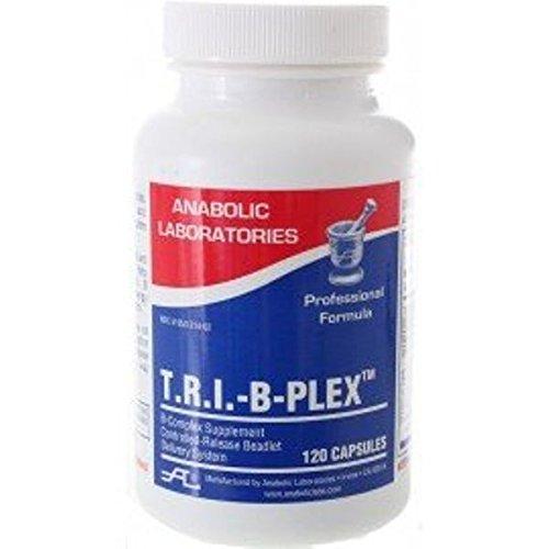 Anabolic Laboratories, TRI B Plex B Complex Formula, 120 Beadlet Caps