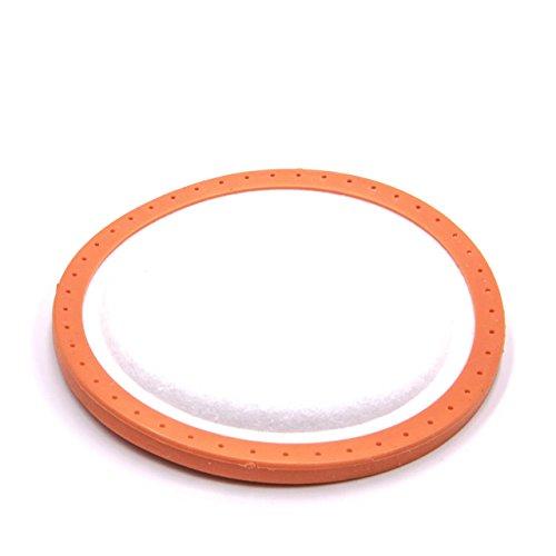 vhbw Motorschutz-Filter kompatibel mit Staubsauger, Saugroboter Dirt Devil Centrino Cleancontrol 2, 3.0, 3.1, Deluxe, R