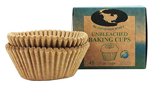 Beyond Gourmet Unbleached Baking 2 1/2 inch-48 Cup(s), 48 CT, Count