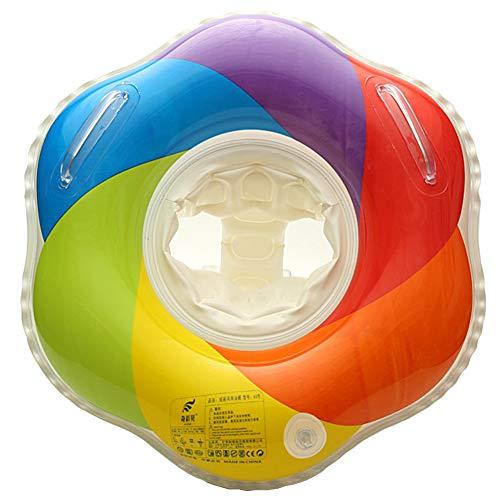 Anello di Nuoto Bambini Bebè Salvagente Sicurezza Gonfiabile per Piscina, Nuoto Anello con sedile per Bambini (3-12 Mesi)