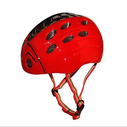 Casco de bicicleta para niños estilo mariquita de insectos niños y niñas...