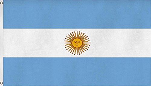 normani Flagge/Fahne 90 x 150 cm Farbe Argentinien