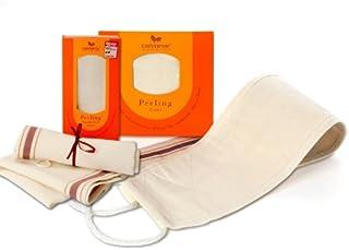 Carenesse Set lichaamsspeeling & rugpeeling I peelinghandschoen lichaam ecotest goed & peelingriem rug I hamam peeling nat...