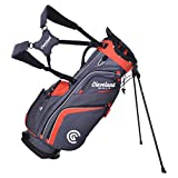 Cleveland Golf Stand Bag Charcoal/Red