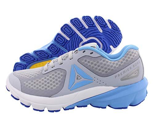 Reebok Premiere Road Shoe - Women's Running Cold Grey/Sky Blue/White, Cold Grey-sky Blue-white ,8.5