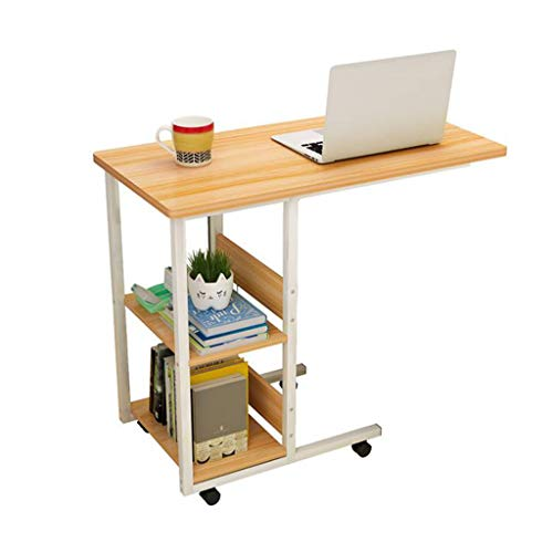 LYN bijzettafel, 2-dieren-nachtkastje computerdesk, bureau-huis simpele slaapkamer Movable student kleine tafel voor woonkamer bank