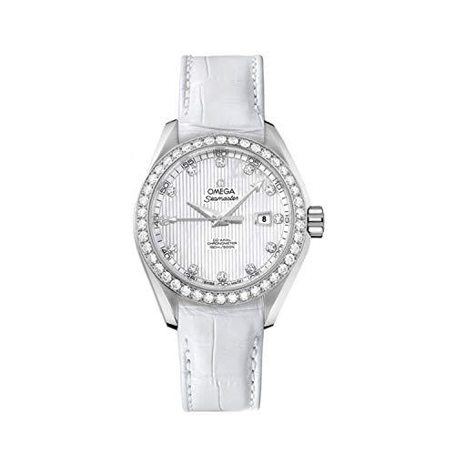 Omega Seamaster Aqua Terra Reloj de mujer con diamantes 231.18.34.20.55.001
