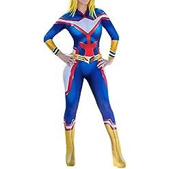 Cosplay Life My Hero Academia Cosplay Costume – Anime Boku No Hero Lycra Fabric Bodysuit Cosplay Halloween Zentaisuit…