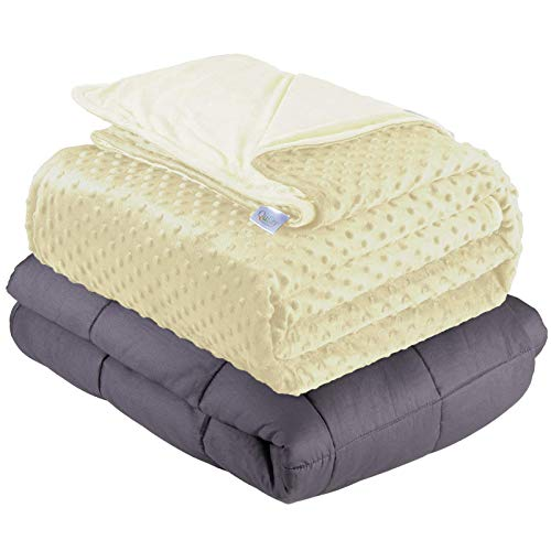 Quility Weighted Blanket for Kids or Adults - Heavy Heating Blankets...