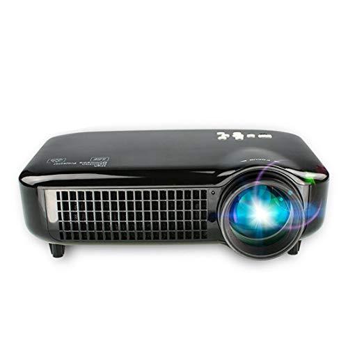 VS-627 Mini Smart Projector 3500SI LM LED 1280x800 GA Vídeo Multimedia, Soporte HDMI/USB/VGA/AV/TV Interfaces, Distancia de proyección: 1.2-6.2m, Liqingshangmao (Color : Color1)