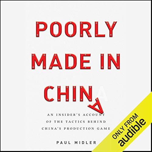 Poorly Made in China audiobook cover art