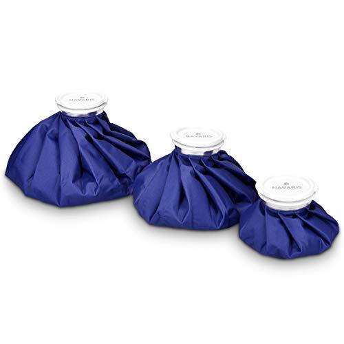 Navaris bolsas de hielo y calor - set 3 tamaños - alivio de